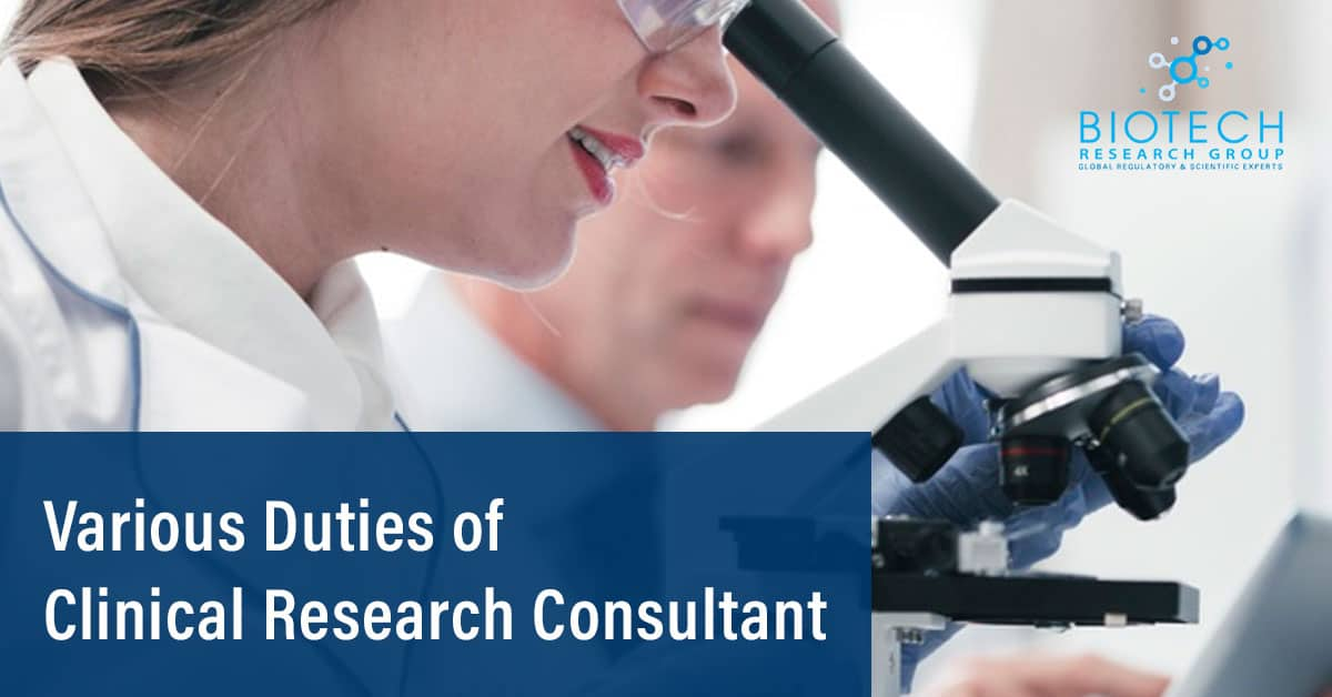 Clinical Research Consultant